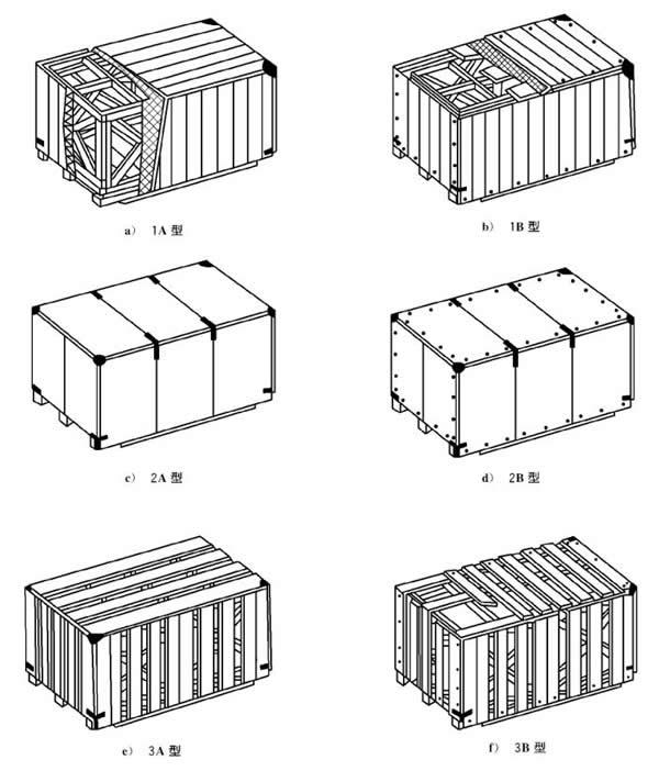 框架木箱设计图