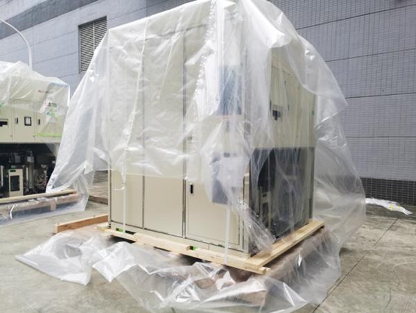 紧固包装案例:木构件和捆绑半导体设备包装