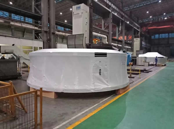 防水防尘包装案例:热收缩膜金属制品包装