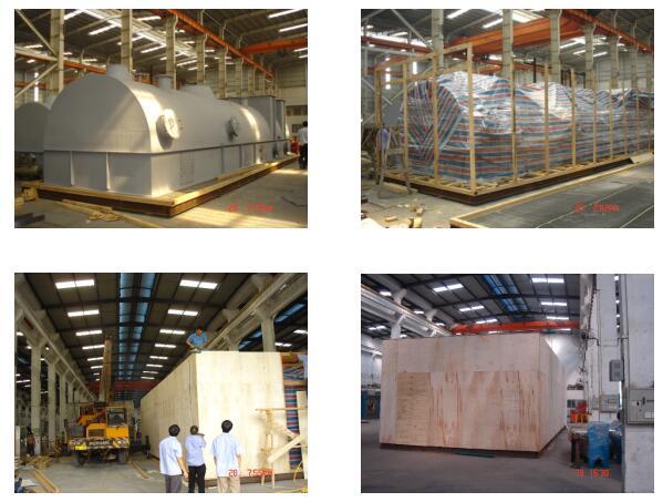 大型、重型水处理设备包装
