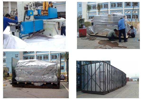 大型设备钢箱包装