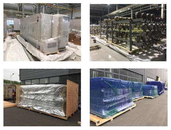 汽车生产线设备包装